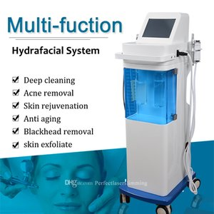 Hydra Facial Water Oxygen Dermabrasion Beauty Equipment with Skin Scrubber and Oxygen Injection HydraFacial Acne Removal Machine