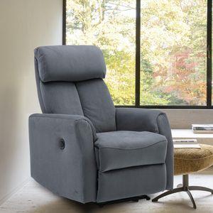US Power Power Back Power Trefliner Chair Vevelt Tissu Électrique Chaise inclinée Sofa Canapé Simple Chaise de salon Puissance inclinable Sofa W50123354