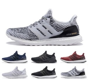 Ultraboost 3.0 Running Shoes Ultra Boosts 4.0 5.0 Trainers Mens Women Sports Sneakers 36-47 Eur with logo