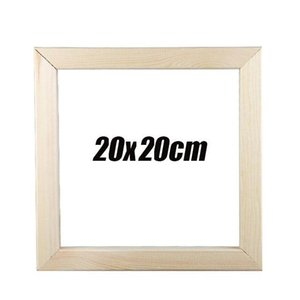 21CM Natural Magnetic Wooden Frame Poster Hanger Photo Frame Poster and Prints White Wood Wall Hanging Wall Home Room Decor