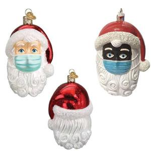 2020 Noel Süsler moda Özelleştirilmiş Hediye Dekorasyon Kardan Adam kolye ile Yüz Maske kaliteli ücretsiz gönderim R0134