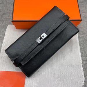 2021 Neue Stil Damen Mode Leder Innen Reißverschluss Tasche Hohe Qualität Brieftasche Vertikale Stil Weibliche Universal Brieftasche Handtasche Dual Zweck