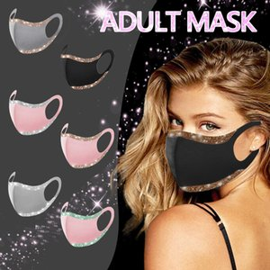 6 نمط فتاة الموضة قناع الوجه قناع الكبار يمكن غسلها وإعادة استخدامها حقيبة مقابل حزمة XD24126