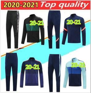 2020 futbol ceket veste takım kitleri futbol eşofman 20 21 WINDBREAKER Kulübü antrenman giysileri futbol ful fermuar ceketler seti