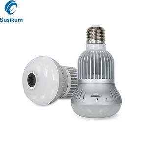 Wifi Panoramic Camera 360 Degree Wireless Light Bulb Camera CCTV Smart Home 3D Security Bulb Wi-fi