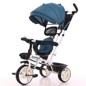 2 In 1 Infant Tricycle Folding Rotating Seat Baby Stroller 3 Wheel Bicycle Kids Bikes Three Wheel Stroller Baby Trolley 6M-6Y1