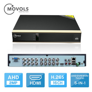 DVR 16CH H.265 CCTV Video Recorder For AHD Camera Analog Camera IP Camera Onvif P2P 1080P Video Surveillance DVR Recorder