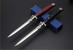 classique 13 pouces italienne AB Mafia Stiletto horizontal tactique couteau pliant 440C Lame de chasse Camping survie auto Knifes C81 EDC Outils