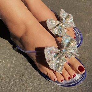 2021 여성 샌들 패션 라인 석 여자 신발 아파트 숙녀 패션 샌들 여성 로마 신발 오픈 발가락 여성 신발