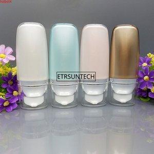 50 unids 30 ml 50 ml botella sin aire cosmética leve la crema de lavado empacado vacío bb suncream squeeze tubo f2567good qualtity