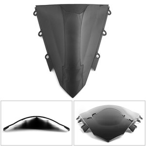 Areyourshop Motorcycle ABS Motorcycle Double Bubble Windscreen Windshield for Honda CBR500R 2016-2018 ABS Motorbike Accessories Parts