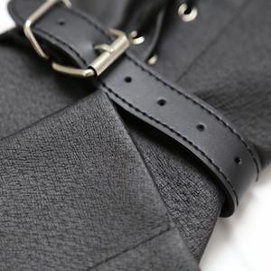 cuir de haute qualité à manches longues Gants bondage set contraintes bondage BDSM Bahand triment sex toys adulte fétiche pour les couples