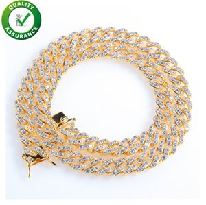 Iced out chains designer necklace hip hop jewelry mens luxury gold pandora style charms bling diamond cuban link fashion wedding accessories