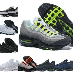 الجملة الترا 95 OG X 20 الذكرى الرجال الاحذية الرياضية فاخر مصمم أحذية الهواء اسود رمادي أزرق المدربين تنس الأزياء الرياضية