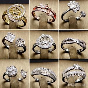 DIY의 진주 벨소리 설정 925 은색 반지 설정 DIY의 반지 여성 조절 크기의 보석 설정 크리스마스 선물 진술서 보석