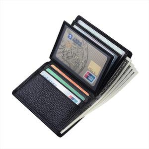 Card Holder Men Wallet Money Bag Coin Pocket Vintage Short Purse PU Leather Male Slim Wallet Soft Wallets
