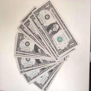 By Prop Banknote 5 долларов Игрушка Валюта партия Фальшивка Деньги Детский подарок 50 доллар Билет