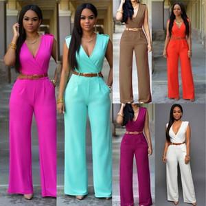 Body Mujeres Romper Mujeres Mono Jumpsuit Elegante Cuerpo Femme Combinaison Femme Cuerpo Traje Ancho Pierna Jumpsuit Verano Monos Streetwear