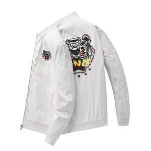vTZm1 Tiger cabeça bordado primavera dos homens 2020 coreano casaco jaqueta casaco de marca de moda casual nova moda masculina