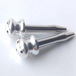 요도 카테터 스프링 스테인레스 스틸 남자 음경 플러그 자위 대장 자극 스틱 삽입 요도 팽창시키는 중공 카테터