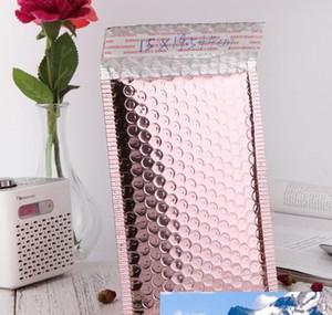 Rose Gold Bubble Envelope Sac d'emballage Rose Gold Feuille d'or Bubble Bubble-cadeau Emballage de cadeau de mariage Bbyvvw Hotclipper