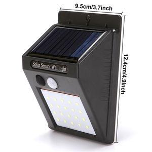 Outdoor Solar Hanging 20 Lamps Home Garden Smart Motion Sensor Night Security Wall Lights Waterproof Road LED Lamp DHB641