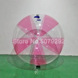 Beautiful rose water balloons and clear swimming pool balls pull hammer balls within the diameter of people with a diameter of 2m