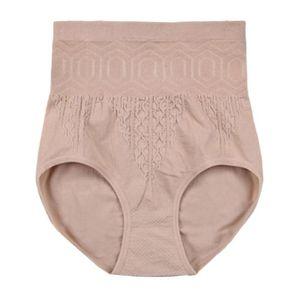 women lady indoor Sexy Cotton Women High Waist Tummy Control Body Shaper Underwear Slimming Seamless Briefs