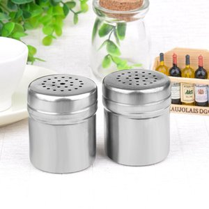 Заправка для приправа отсол из нержавеющей стали. Кухонные контейнер BBQ Pepper Powder Tool Spice Powder разбрызгивая горшок DHD3726