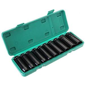 Hexagon Erweiterte Steckschlüssel-Antrieb Deep Impact Sleeve Set Schwer Metric Garage Werkzeug für Wrench