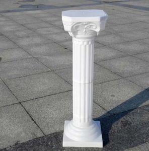 أركان الراقي أعمدة نمط الروماني اللون الأبيض البلاستيك استشهد الطريق لوازم الزفاف الدعائم حدث الديكور