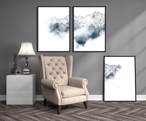 Modern Home Oil Painting Print and Poster Artwork Living Room Far Away From Home Wall Picture for Home Decoration