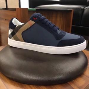 2021 Nova Chegada Mens Calçados Casuais Top Quality Homens Sneakers Homens Sapatos De Moda Sheepskin Insole Modelo 0824242