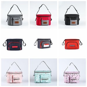 Baby Cloth Diaper Bag Mommy Stroller Nappy Wet Bags Waterproof Reusable Pail Liner Portable Storage Pocket Single Zipper Free Shipping