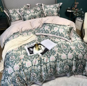 European retro traditional flower bird bedding set,full queen king rustic double home textile bed sheet pillow case quilt cover