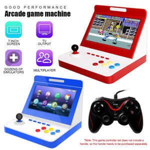 Portable Game Controller Mini Nostalgic Game Console 7 inch Large Screen Home Machine for Arcade Games