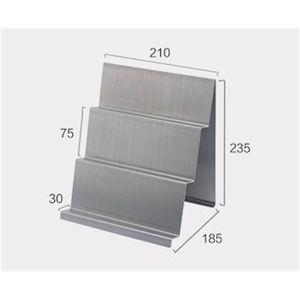 Stainless Steel Handbag Purse Display Rack Wallet Holder Purse Bracket For Table Display Desk Glasses Storage Rack Stand Metal