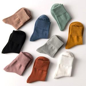 여성 면화 양말, 따뜻한 부드러운 면화 양말 여성 발목 캐주얼 크루 양말 5 쌍 위의 훌륭한 품질