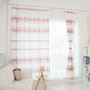 2020 New Geometry Pattern Window Treatments Children Room Curtains bedroom Curtains for Living Room Kitchen Door Window1
