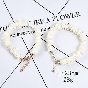 Natural Irregular Shell Fragments Women's Bracelet Necklace Seashell Charm Jewelry Gifts Summer Boho Jewelry For Women H bbyrsC