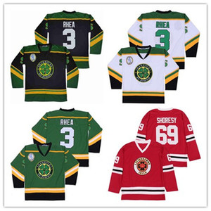Serie de TV Letterkenny Hockey Jerseys Irish # 69 Shores The Boss Rhea St John's Shamrocks Goon Movie Jerseys