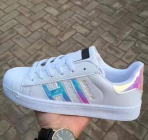 Caliente 2017 moda hombre zapatos casuales superestrella smith stan hembra plana zapatos mujeres zapatillas deportivas mujeres amantes sapatos sapatos femininos para hombres