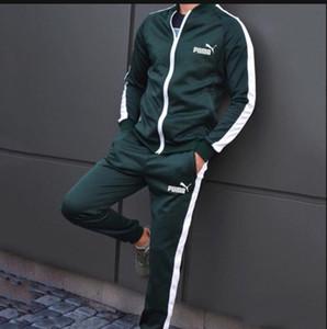 Booties Herren Entwurf Tracksuits Herbst und Winter Qualitäts-Männer Cotton bequeme dünne Strickjacke mit Kapuze Jacke Zweiteiliges Anzug CHP 01