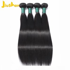 Sexy 8a Estilo Estilo Peruano Virgem Cabelo Straight 4 Bundles Brazilian Hair Weave Bundles Reto Brizilian Virgem Weave