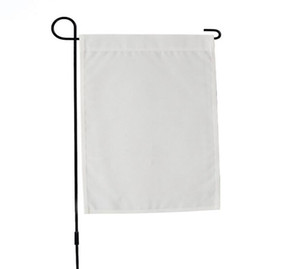 sublimation blanks Garden Flag American Garden Flags heat tranfer printing Garden Banner blank banners size 30.4*40.5cm 6622