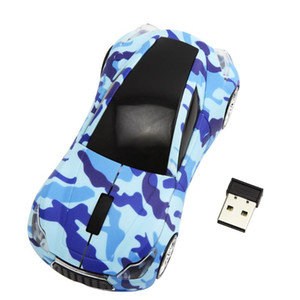 CHYI Mini Wireless Mouse Infiniti Sports Car Shape Muase 2.4Ghz USB Optical Office Computer Mice For PC Laptop Notebook Gift