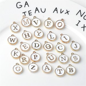 Alphabet Letter Mixed Charms Pendants A to Z Letter Alphabet Charms DIY Jewelry Loose Beads for Jewelry Making and Crafting
