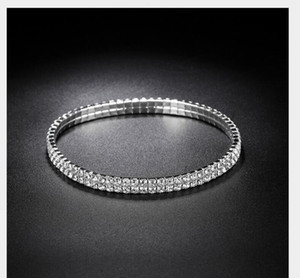 Sparkly Crystal Rhinestone Stretch Anklet Hot Sale Summer Beach Barefoot Sandal Ankle Chain Anklet Foot Je sqcVGq dh_seller2010