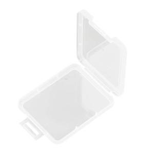 Paramparça Konteyner Kutusu Koruma Kılıf Kart Konteyner Bellek Kartı Kutuları CF Kart Aracı Plastik Şeffaf Depolama Taşıma Kolay BWC3243