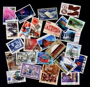 500 Pieces Good Condition Used With Post Mark No Repeat Postage Stamps For Collecting ,High Quality Q1114